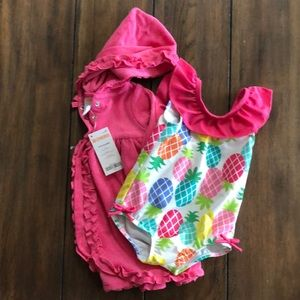 Other - Gymboree cover up & swim suit